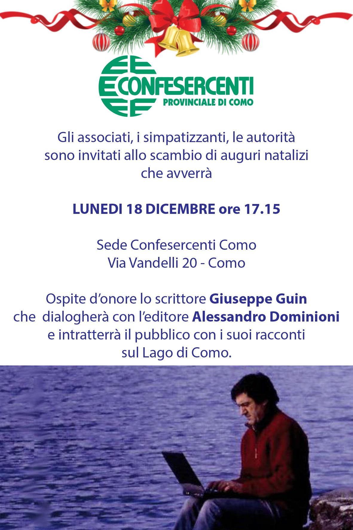 Invito Confesercenti Guin 18 dicembre