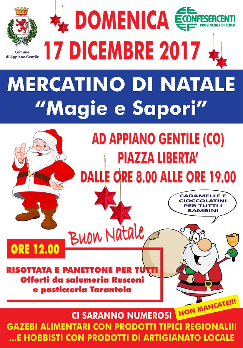 Mercatino Appiano 17 dicembre 70x100